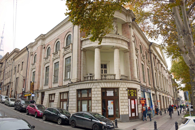 რუსთაველის ქუჩაზე მდებარე ისტორიული შენობა-ნაგებობების რეაბილიტაცია