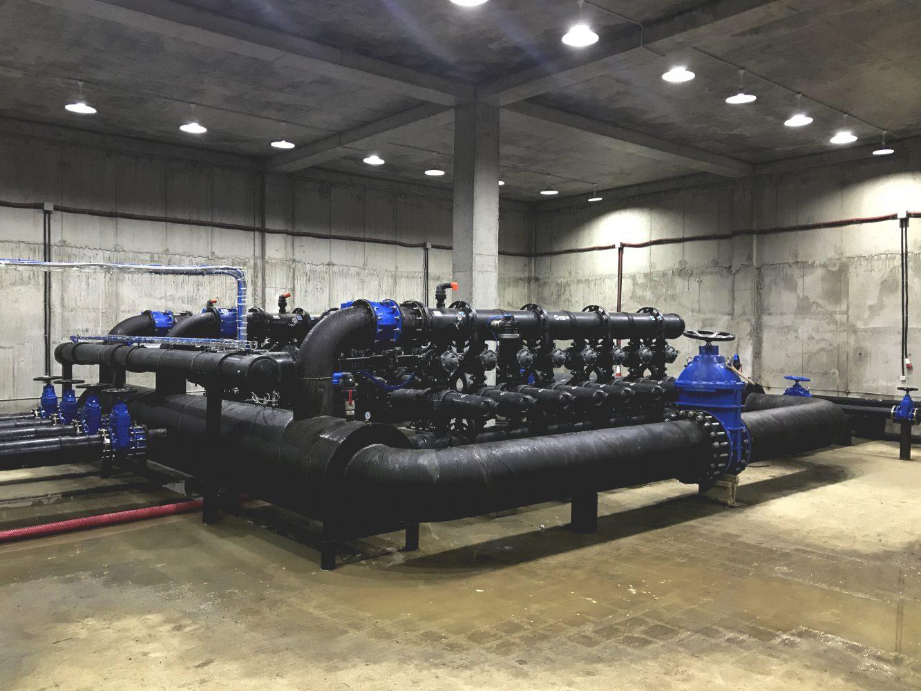 ქუთაისის დავით აღმაშენებლის სახელობის აეროპორტის წყალმომარაგებისა და წყალარინების სამშენებლო სამუშაოები